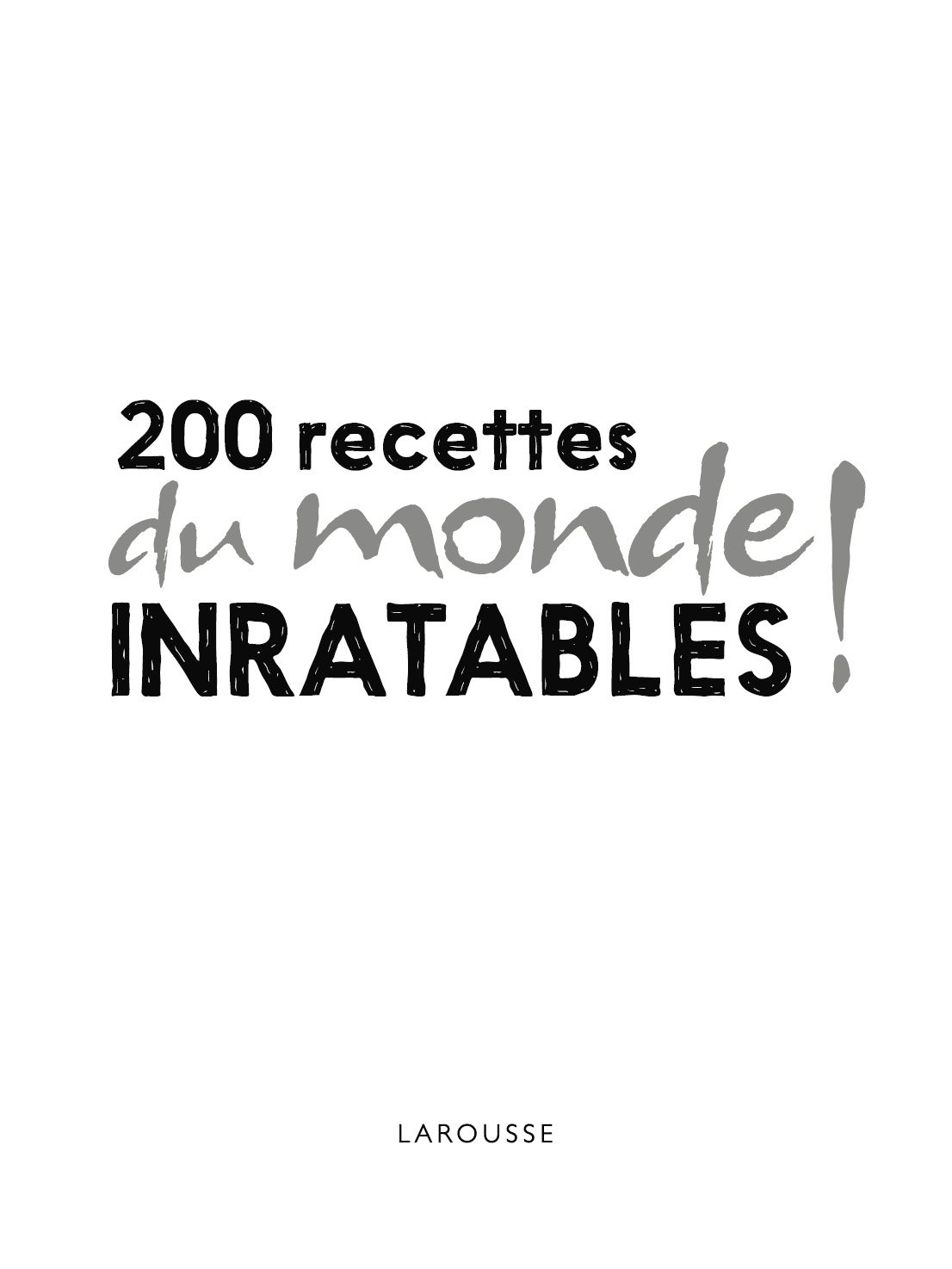 Read  U0026 Download 200 Recettes Du Monde